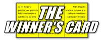 The Winners Card